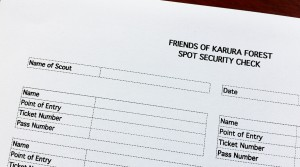 Spot Security Check Form