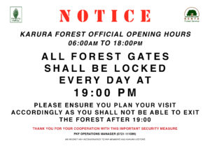 Gates Locked 19:00