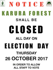 Election Day Closure