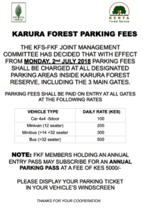 New Parking Fees